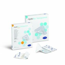 HydroTac Transparent Comfort - 8 x 8 cm - 1 cutie din 10 bucati