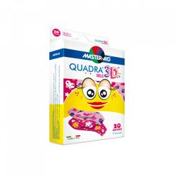 Quadra 3D – Plasturi pentru pielea sensibila a copiilor
