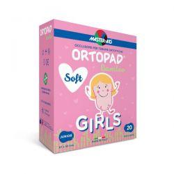 Bandaje pentru scopuri speciale Ortopad Soft Girls – Ocluzoare colorate pentru fetite