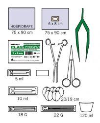 Set steril pentru anestezie locala