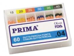 Endodontie Conuri Gutta percha points mari, asortate - 04, Prima