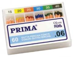 Endodontie Conuri Gutta percha points mari, asortate - 06, Prima