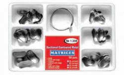 Matrici dentare Matrici Conturate Metalice Sectionale Asortate