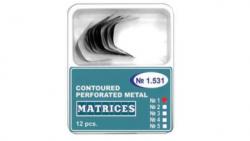 Matrici dentare Matrici Ivory Metalice Conturate Perforate, inox