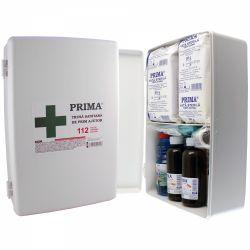 Truse si cutii de prim ajutor Trusa sanitara de prim ajutor fixa