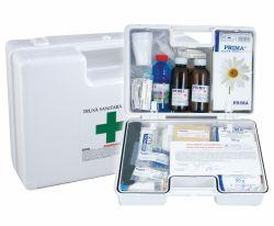 Truse si cutii de prim ajutor Trusa Sanitara de Prim Ajutor, detasabila cu suport de perete, avizata MS