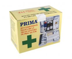 Truse si cutii de prim ajutor KIT Trusa sanitara prim ajutor fixa