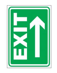 Echipamente de urgenta si resuscitare Indicatoare pentru EXIT