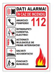 Echipamente de urgenta si resuscitare Indicator alarma 112