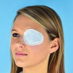 Bandaje pentru scopuri speciale elastoporEYE - Pad ochi din nețesut cu tampon absorbant, autoadeziv, steril