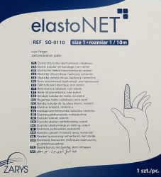 elastoNET - Bandaj tubular de fixare tip plasa, elastic, 25m - Marime: 1 - Indicatie: Deget