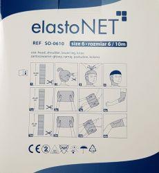 elastoNET - Bandaj tubular de fixare tip plasa, elastic, 25m - Marime: 6 - Indicatie: Cap / Umar / Picior inferior / Genunchi