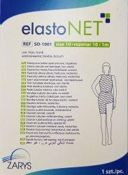 elastoNET - Bandaj tubular de fixare tip plasa, elastic, 2,5m - Marime: 10 - Indicatie: Sold / Trunchi