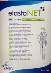 elastoNET - Bandaj tubular de fixare tip plasa, elastic, 2,5m - Marime: 14 - Indicatie: Piept / Trunchi